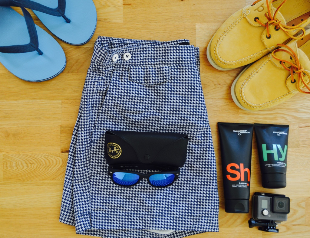 Men's Summer Essentials | Go Pro | Scaramouche & Fandango | Vision Express | Ray Ban | Flash Lenses | David Gandy Swim Shorts | Sam Squire UK Male Fashion & Lifestyle Blogger