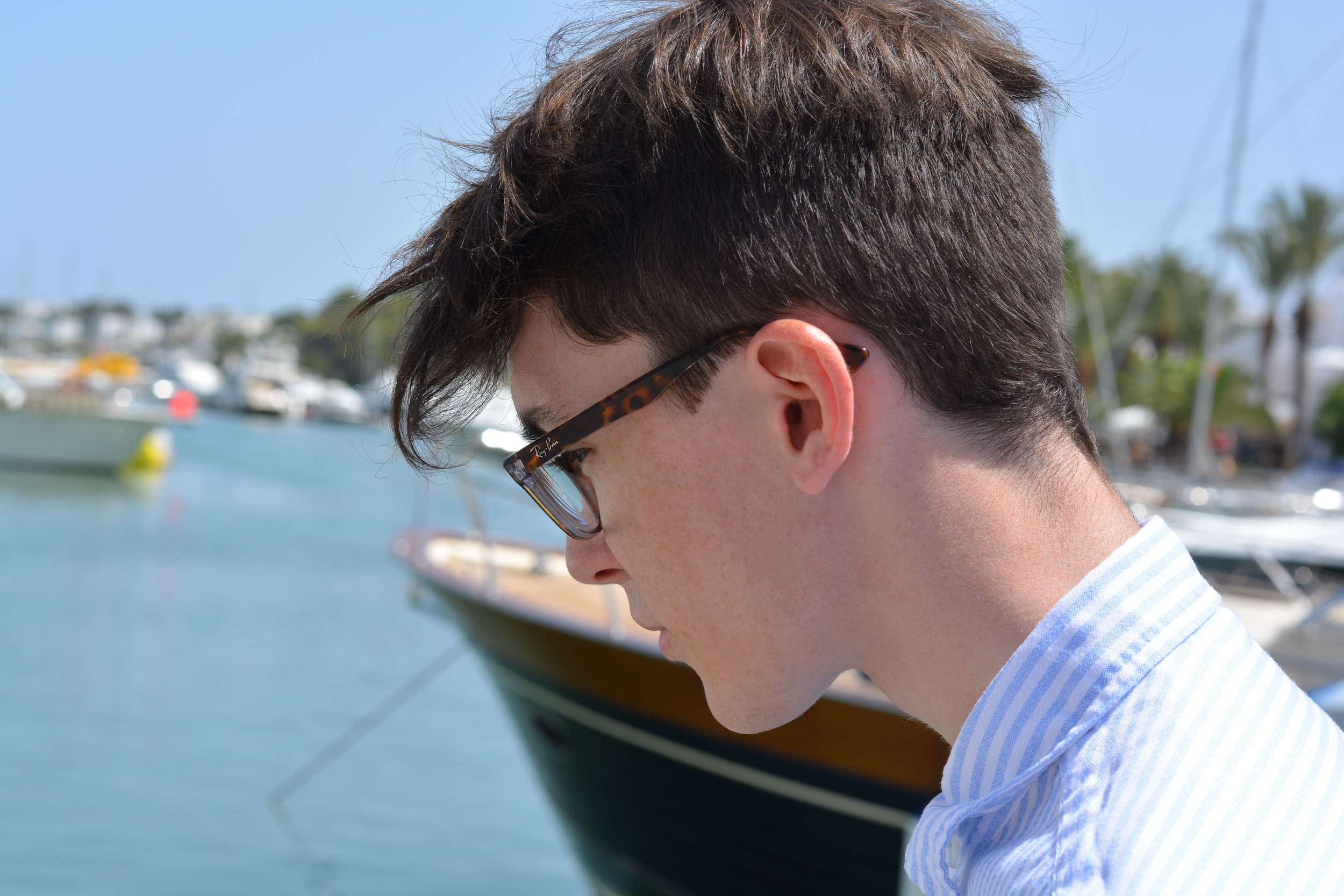 Vision Express Ray Ban RB5286 Glasses | Sam Squire UK Male Fashion & Lifestyle Blogger
