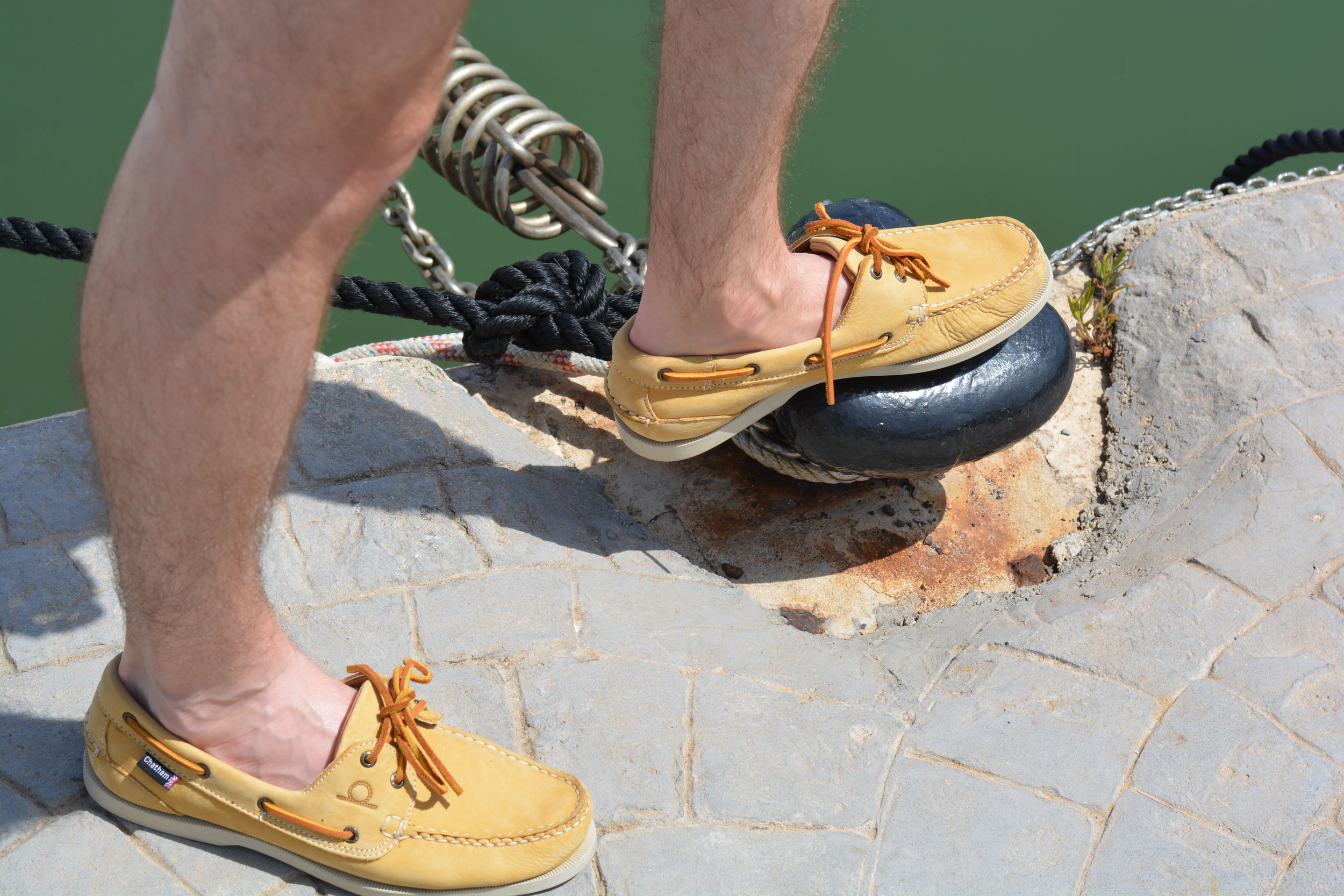 Chatham Compass Shoes | Sam Squire UK Male Fashion & Lifestyle Blogger