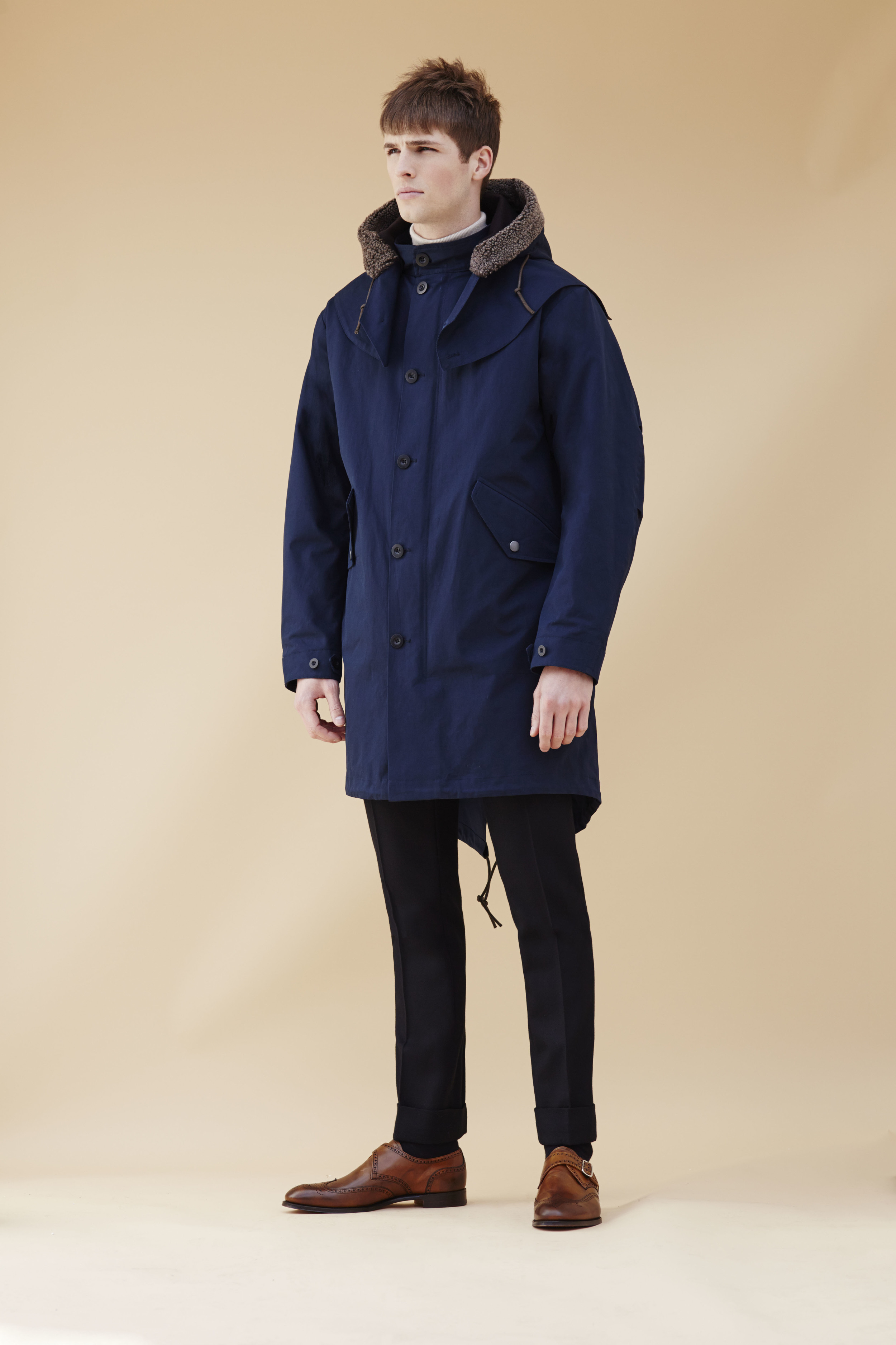 Mens parka coat Marks & Spencer | Sam Squire UK Male Fashion & Lifestyle blogger