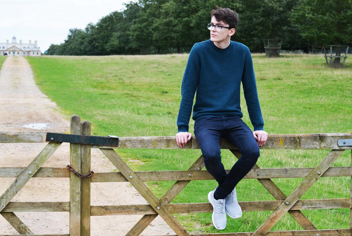 marks & spencer autograph jumper   sam squire uk male fashion blogger