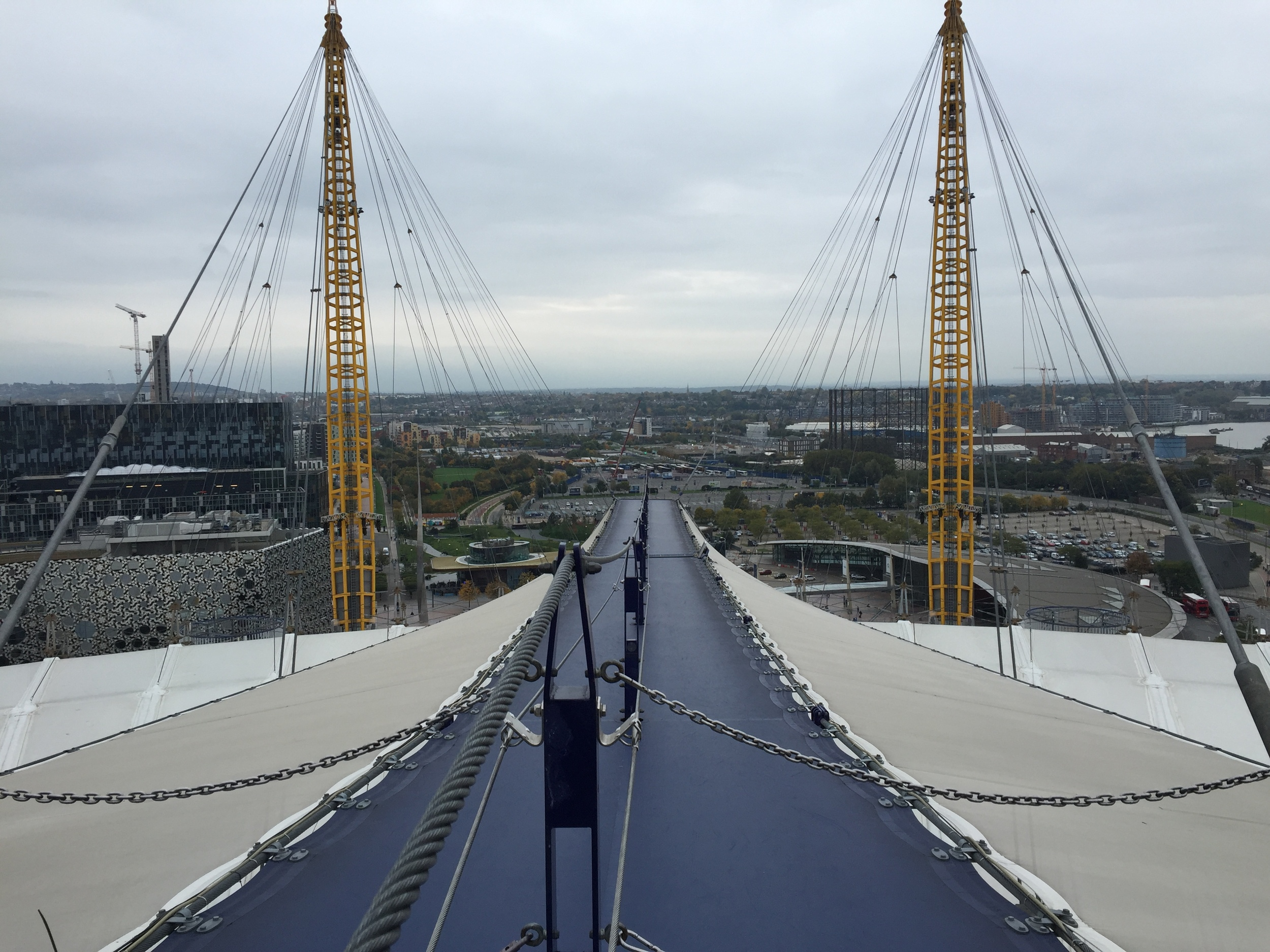 Up at The O2 | London | Sam Squire UK Male Fashion Blogger