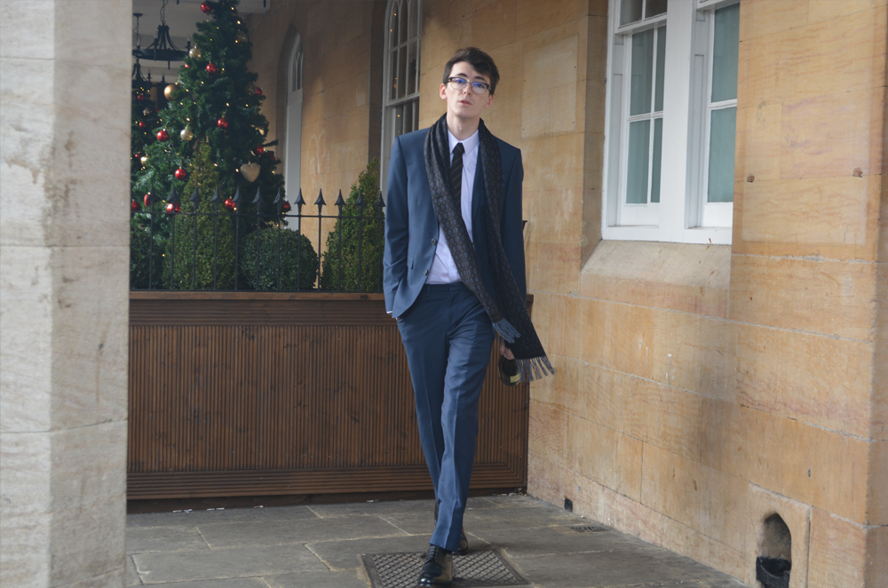 Burton Festive menswear | Sam Squire UK Male fashion blogger