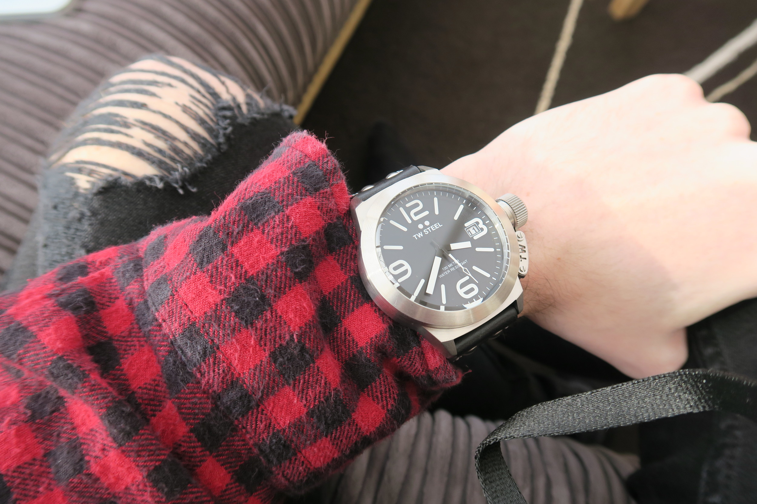 TW Steel Men's Watch | Sam Squire uk male fashion blogger