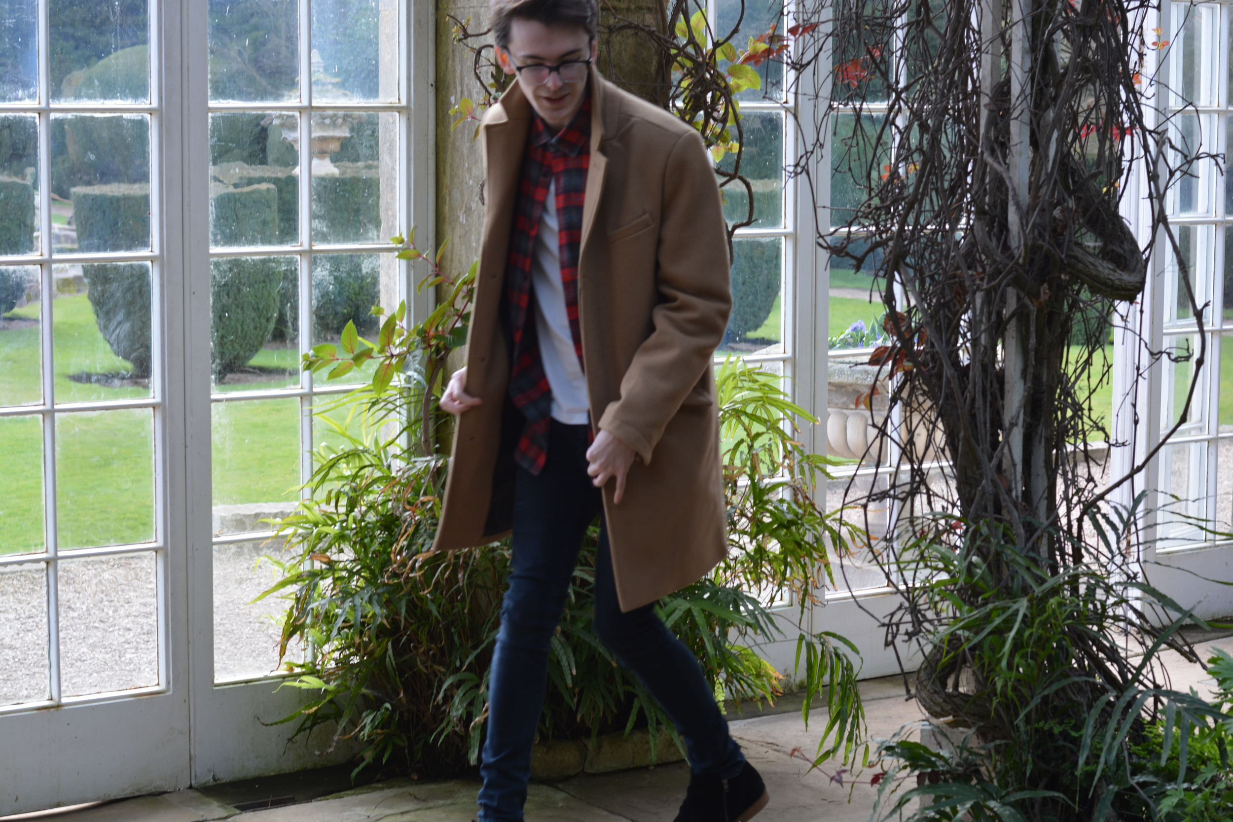 Topman Camel Coat | Sam Squire UK men's fashion & lifestyle blog