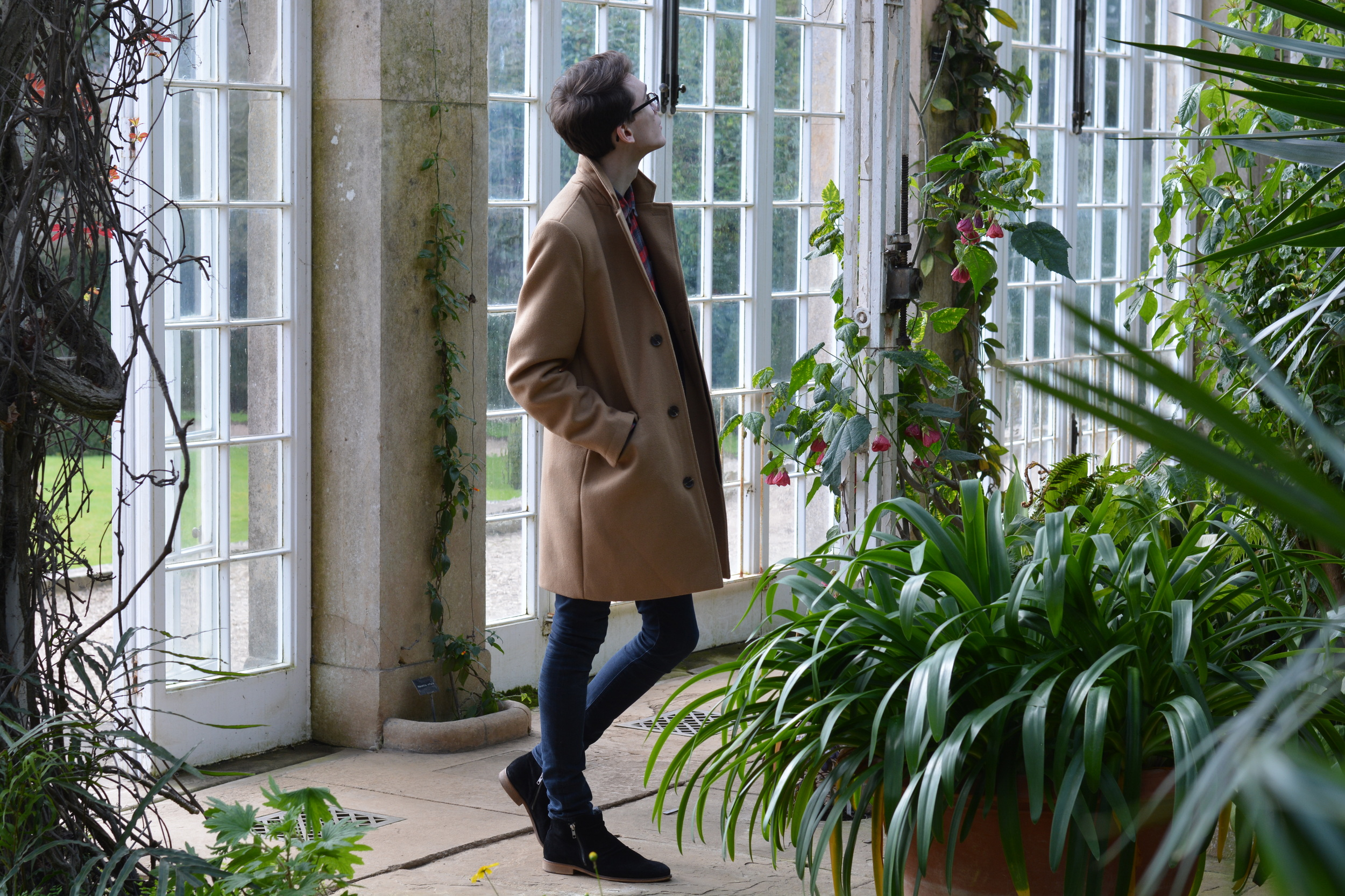 Topman Camel Coat | Sam Squire UK Mens fashion & lifestyle blog