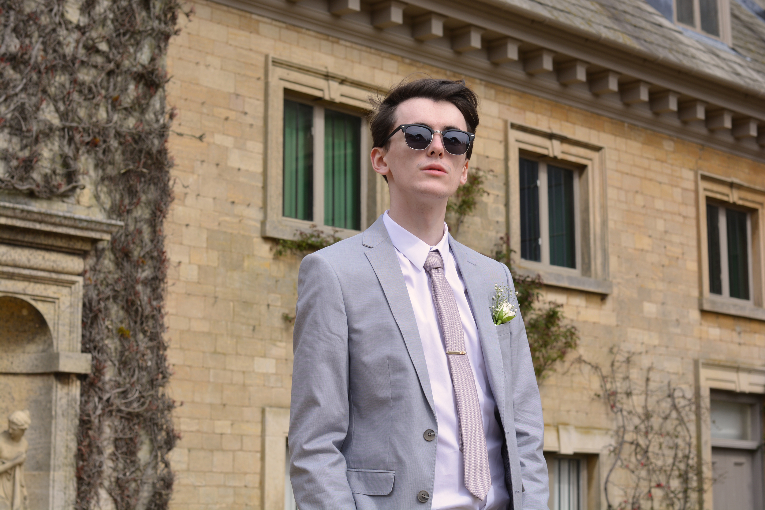 Burton Menswear Suit | Sam Squire UK male fashion blogger