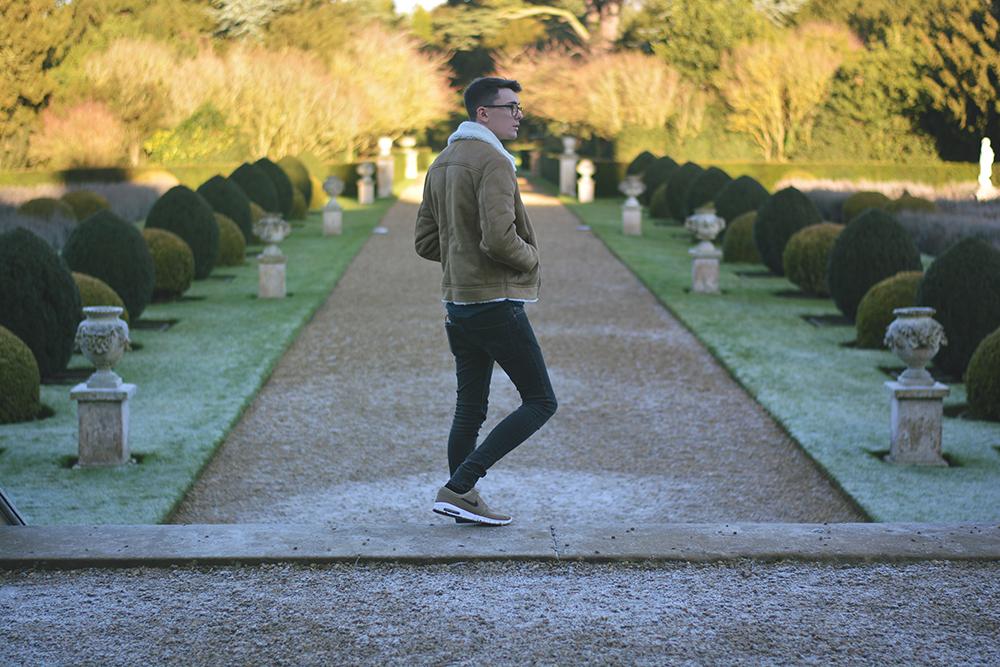 ASOS Shearling Jacket | Sam Squire UK Male fashion & lifestyle blogger