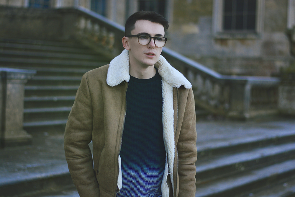 ASOS Shearling | Sam Squire UK Male fashion blogger