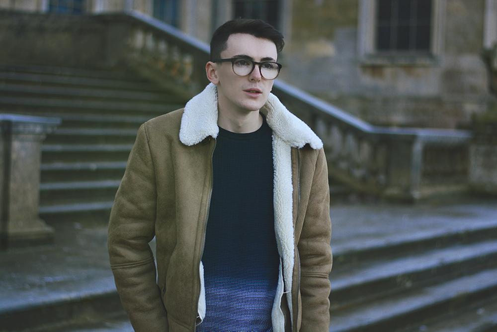 ASOS Shearling | Sam Squire UK Male fashion blogger