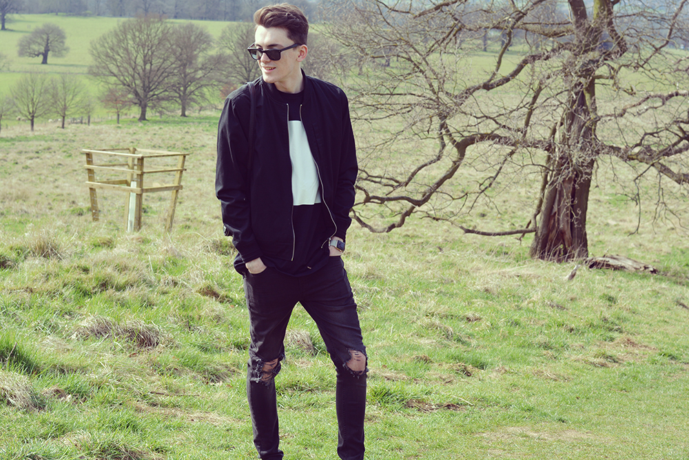 Topman Ripped Jeans | Sam Squire UK Male fashion blogger