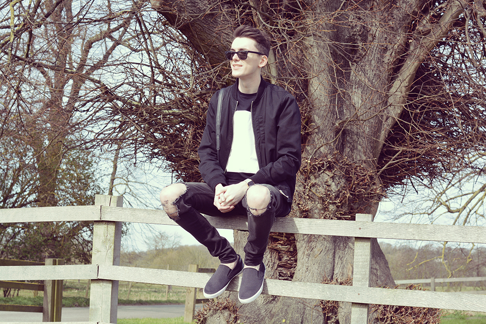 Topman Slip on shoes | Sam Squire UK male fashion blogger