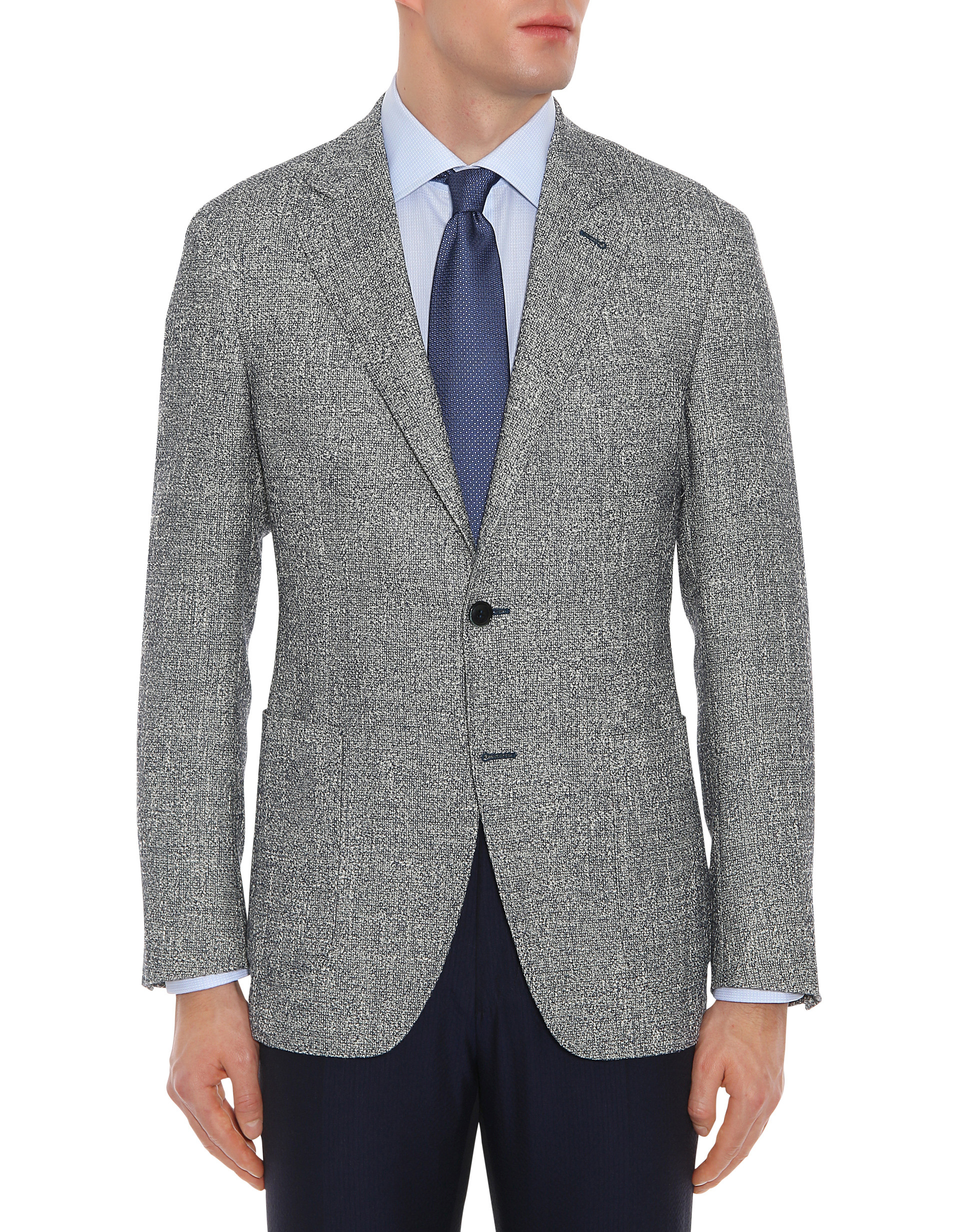 Look 2: Textured Blazer -