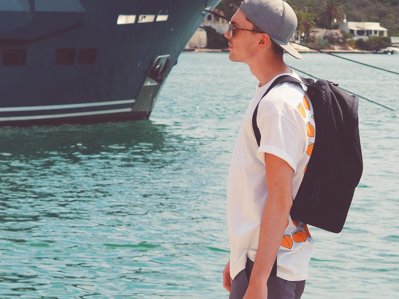 Burton Snake Mountain Backpack | Sam Squire uK Mens fashion & lifestyle blogger