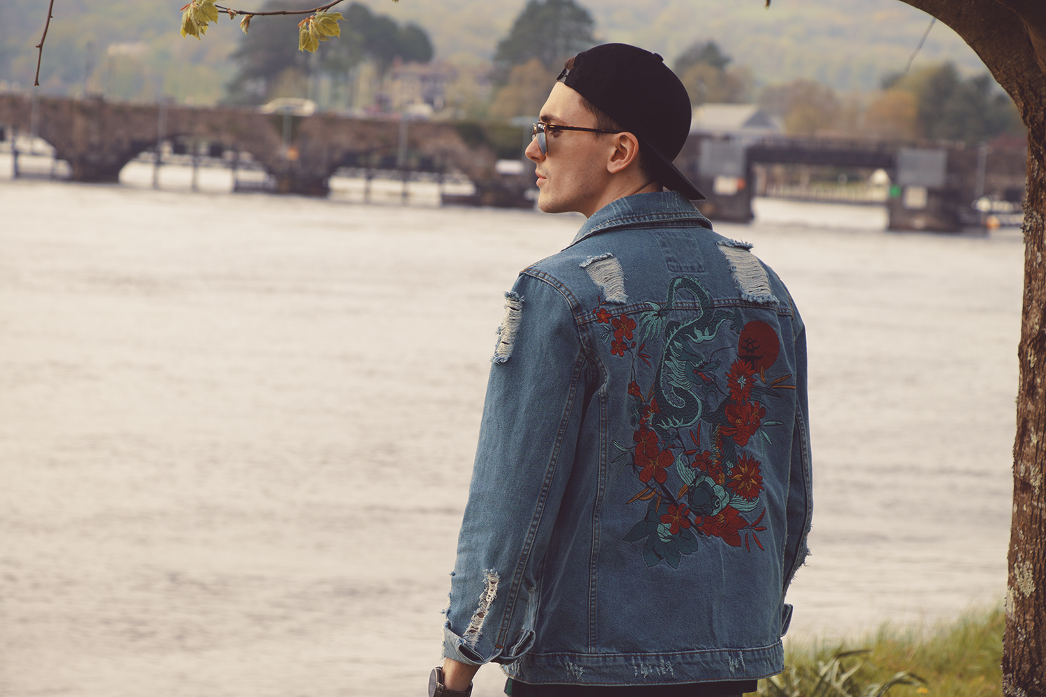 BoohooMan Denim Jacket | Sam Squire UK Male Fashion Blog