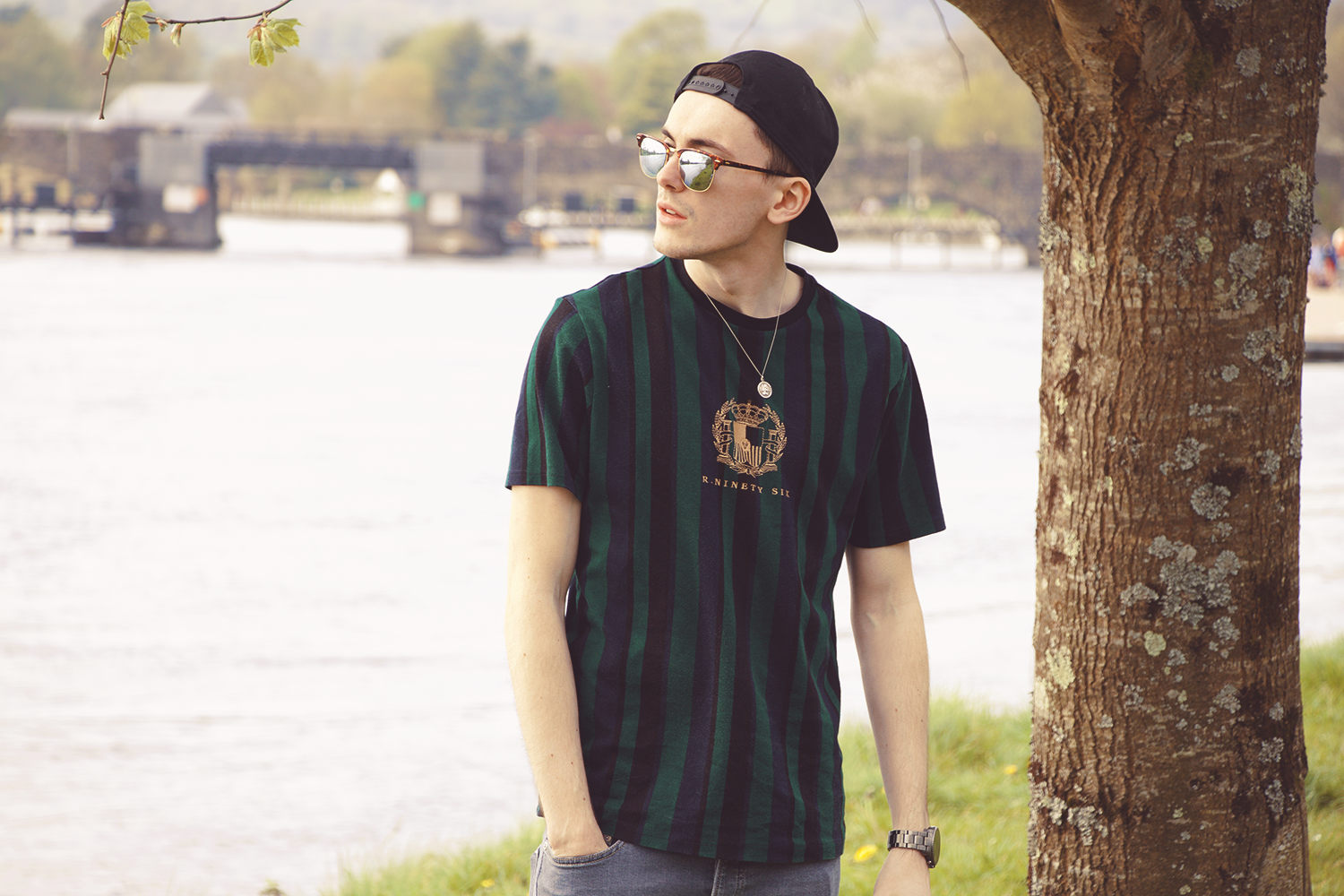 River Island t-shirt | Sam Squire UK mens fashion blog