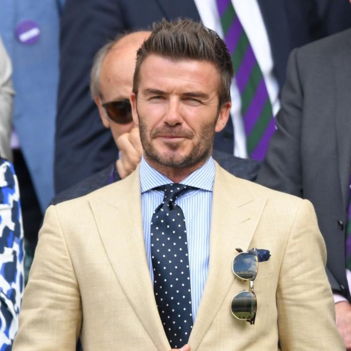 David Beckham Beard Style | Sam Squire UK Men's Fashion Blog