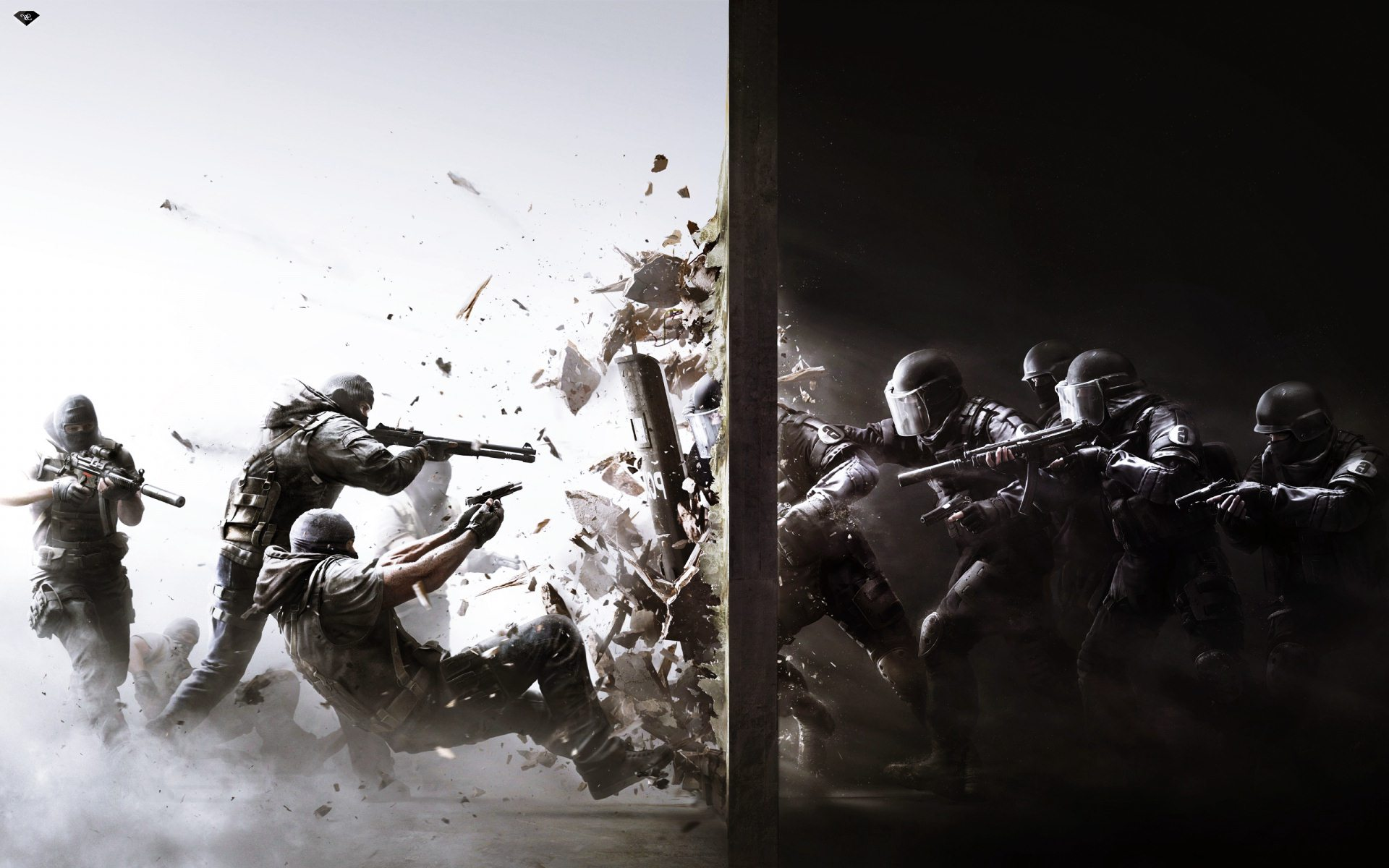 Rainbow Six Siege 2015 Game Wallpaper