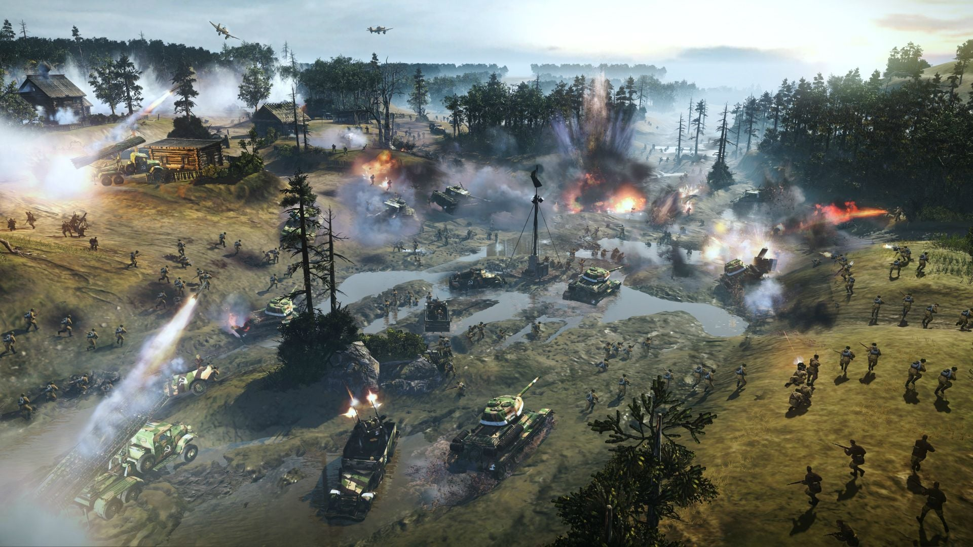 The bleak outlook when everything on the battlefield, including the terrain goes FUBAR.