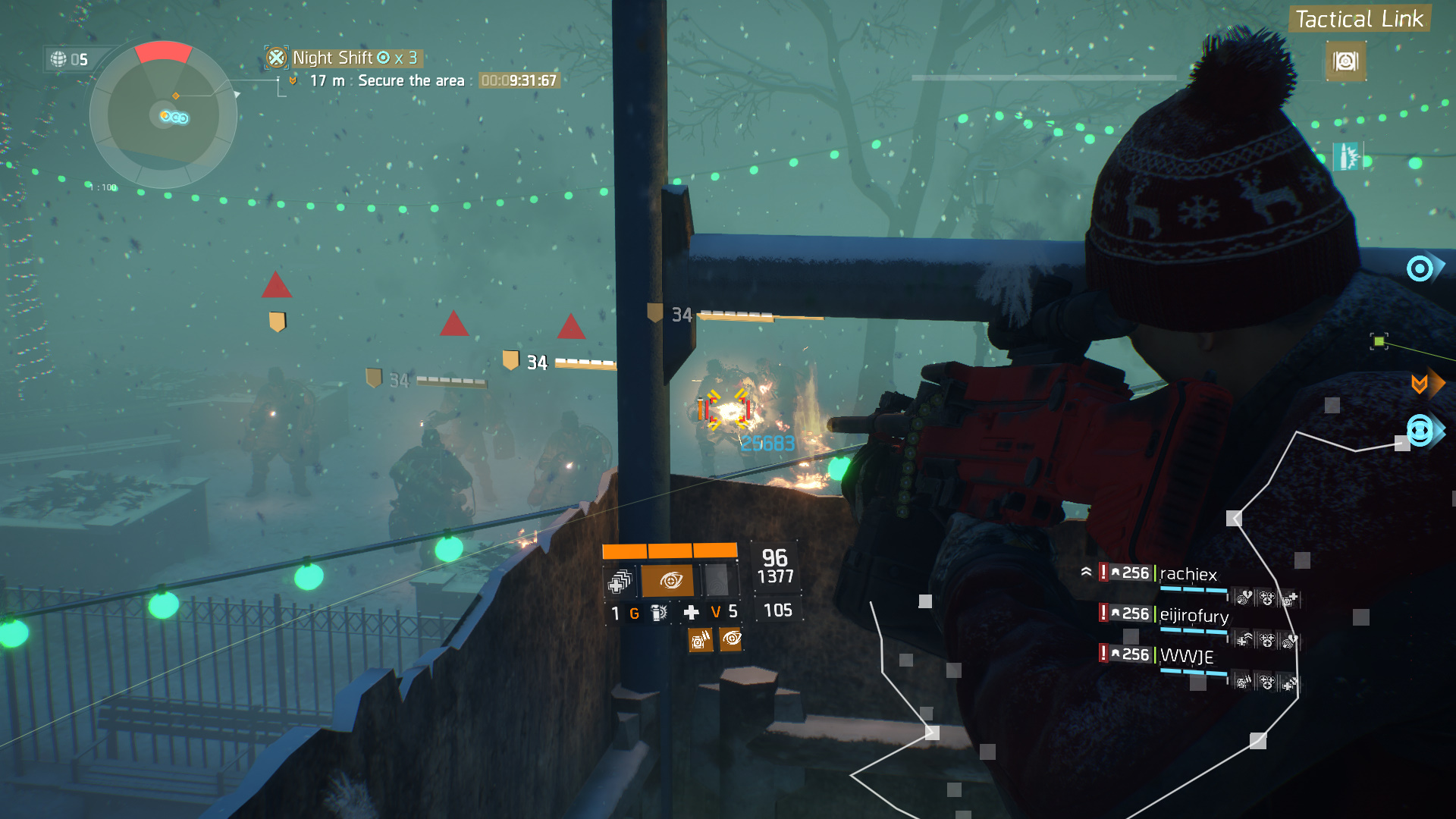 The Division.   Ubisoft's snowdrop engine is another one that uses more than 4 cores of a processor. DX12 was recently implemented. Division does extra streaming in of assets in the background, instead of fade to black area transitioning: even virtual hyperthread cores are helpful as extra workers for that particular task.