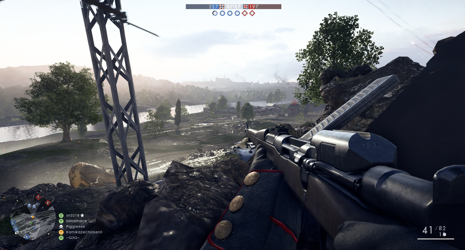 Battlefield One is still a valid bench as of mid-late 2017, because on the single card GT51-CH, at 1440p, on Ultra, it pushes 70-80fps - to get any more framerate you'd have to drop quality and resolution.
