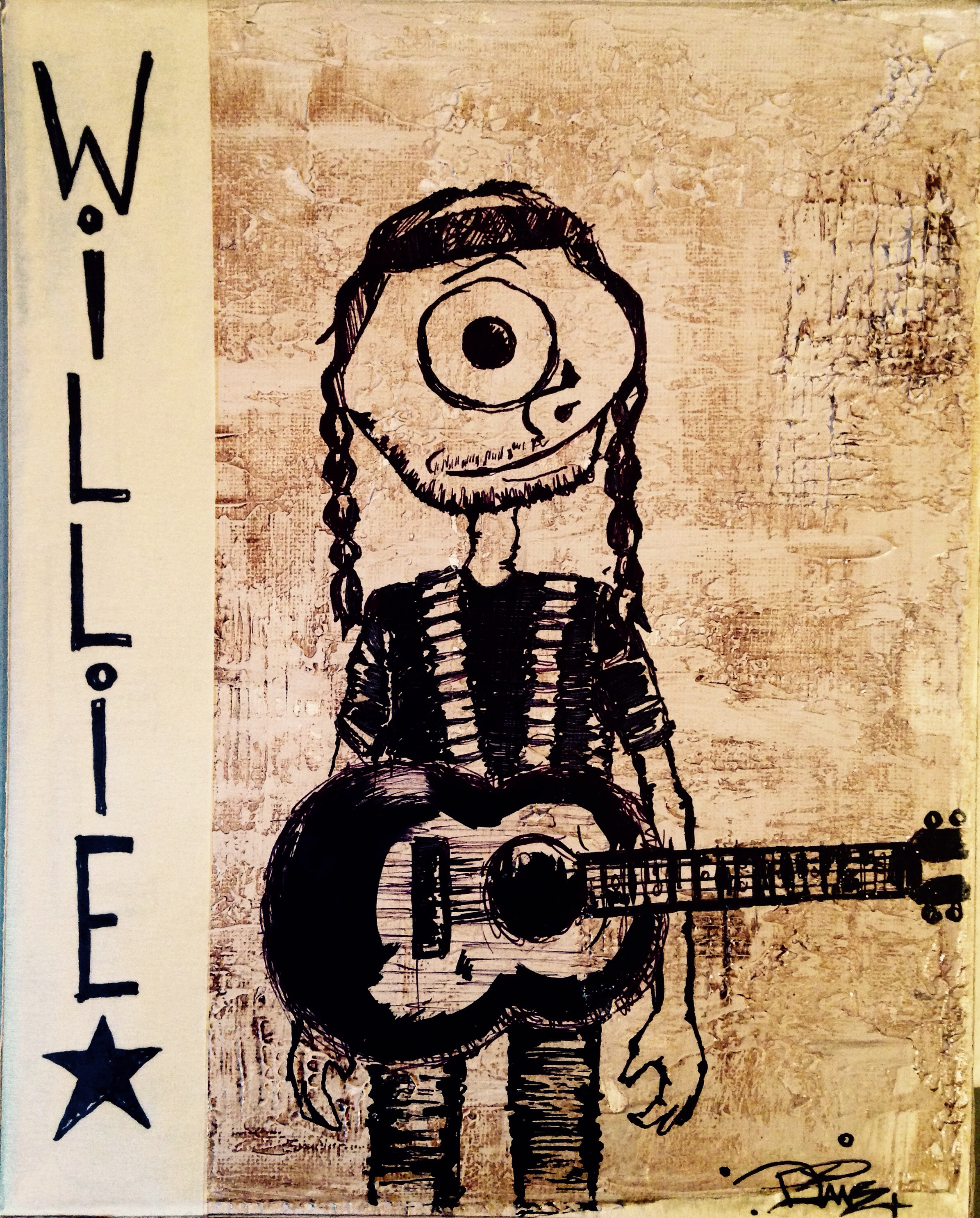 Willie. Blue eye cryin in the wind...