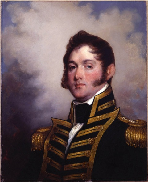 Portrait of Oliver Hazard Perry, by Stuart Gilbert (1818).