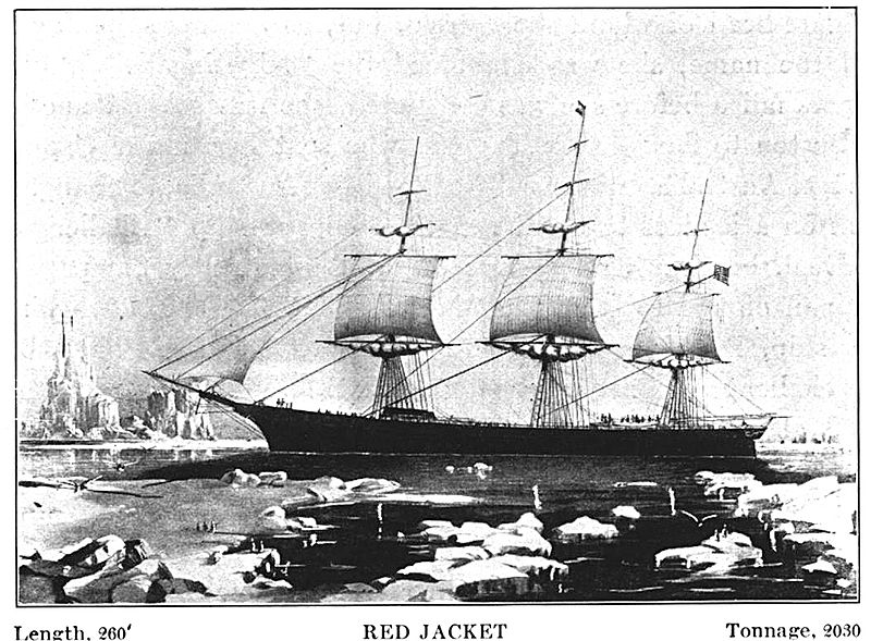 """""""Some ships of the clipper era"""",by State Street Trust Company, Boston, MA, 1913"""