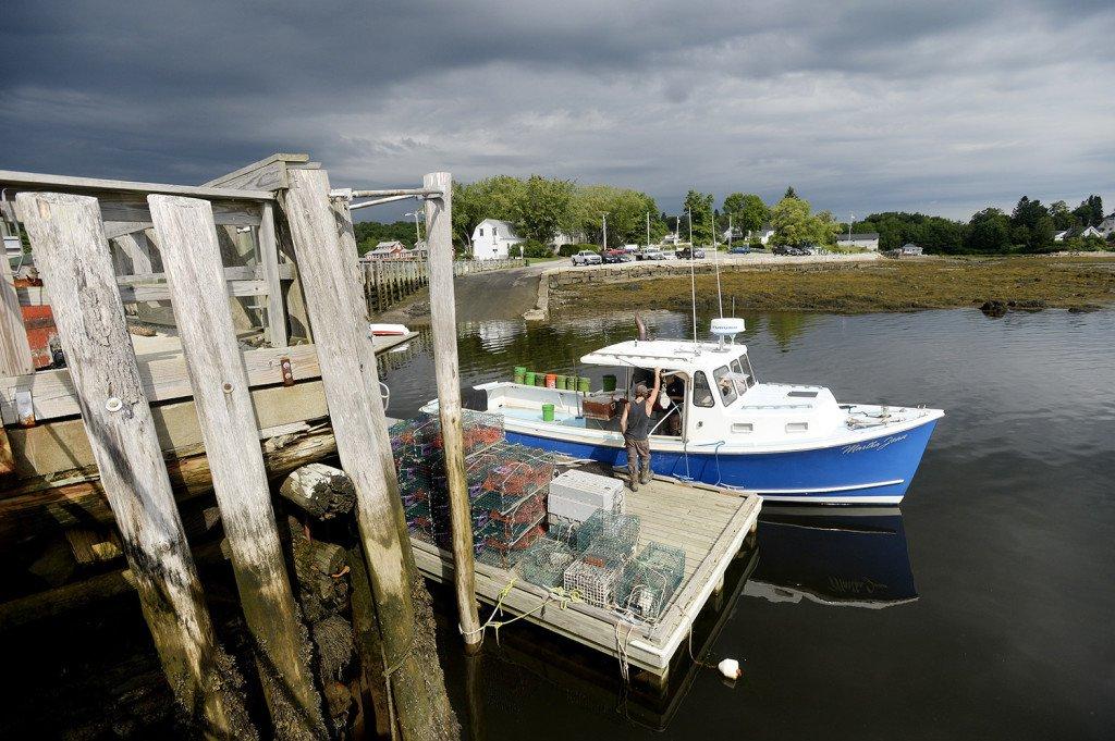 A Fishing Boatin Searsport. Photo Credit: Press Herald