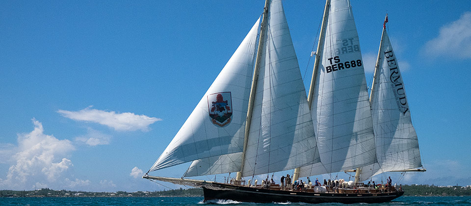Spirit of Bermuda, photo courtesy of the Bermuda Sloop Foundation