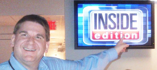 Steve at Inside Edition