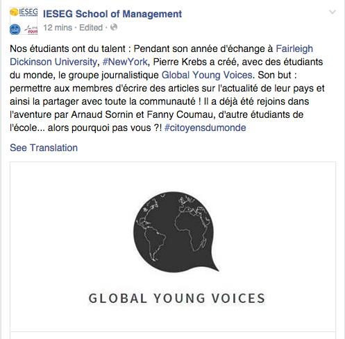 IESEG SCHOOL OF MANAGEMENT, FRANCE