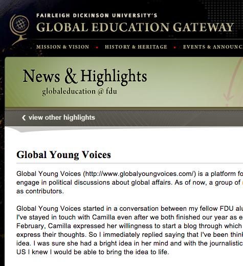 GLOBAL EDUCATION GATEWAY, USA