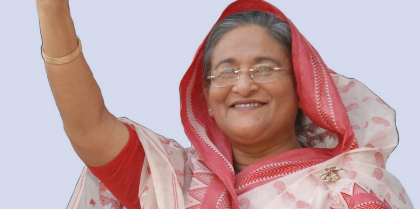 Prime Minister of Bangladesh Sheikh Hasina. Credit: Sojho.com
