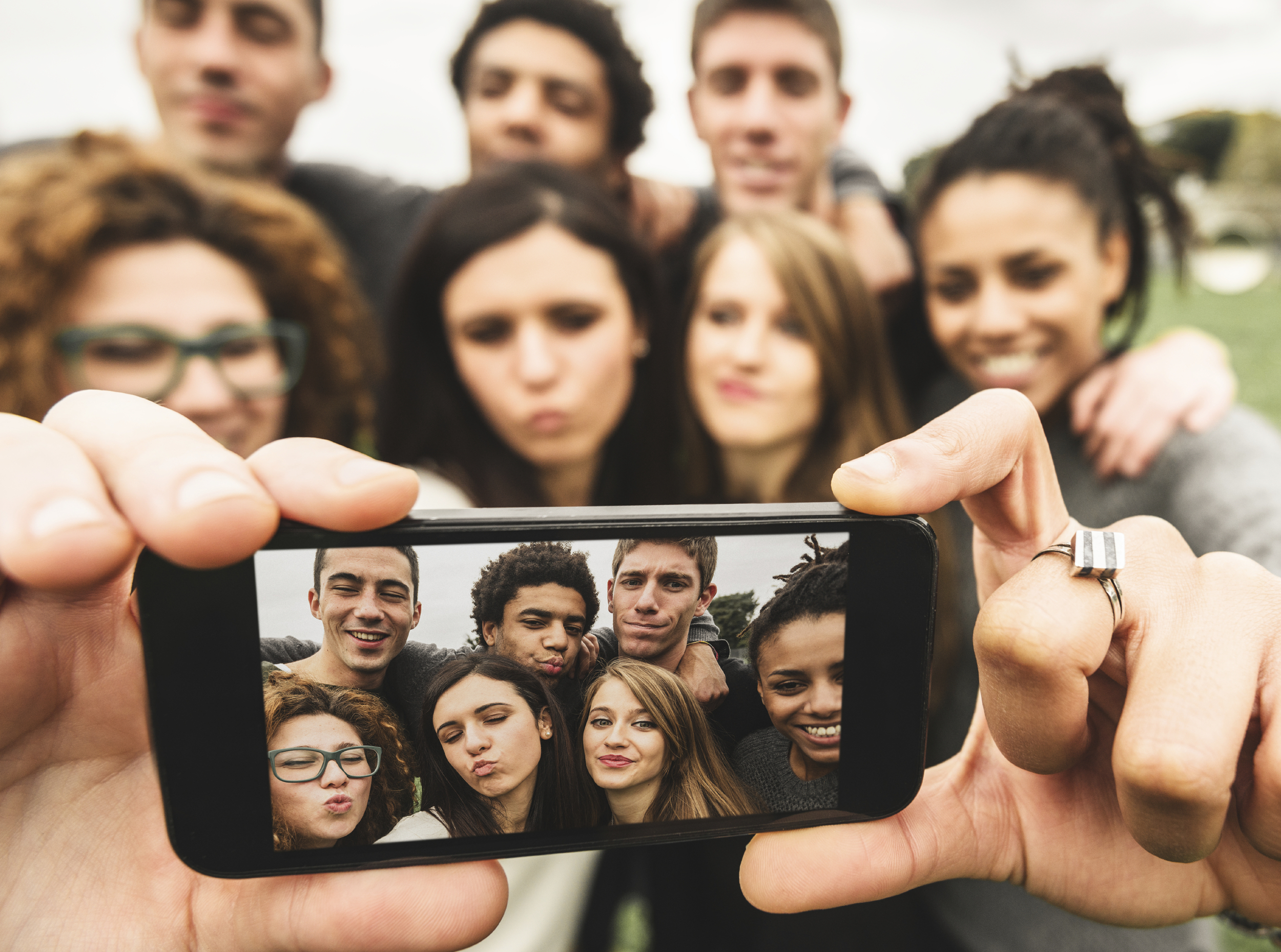 Millennials have been described as self-absorbed and selfish.Credit: Globalprtrends.com