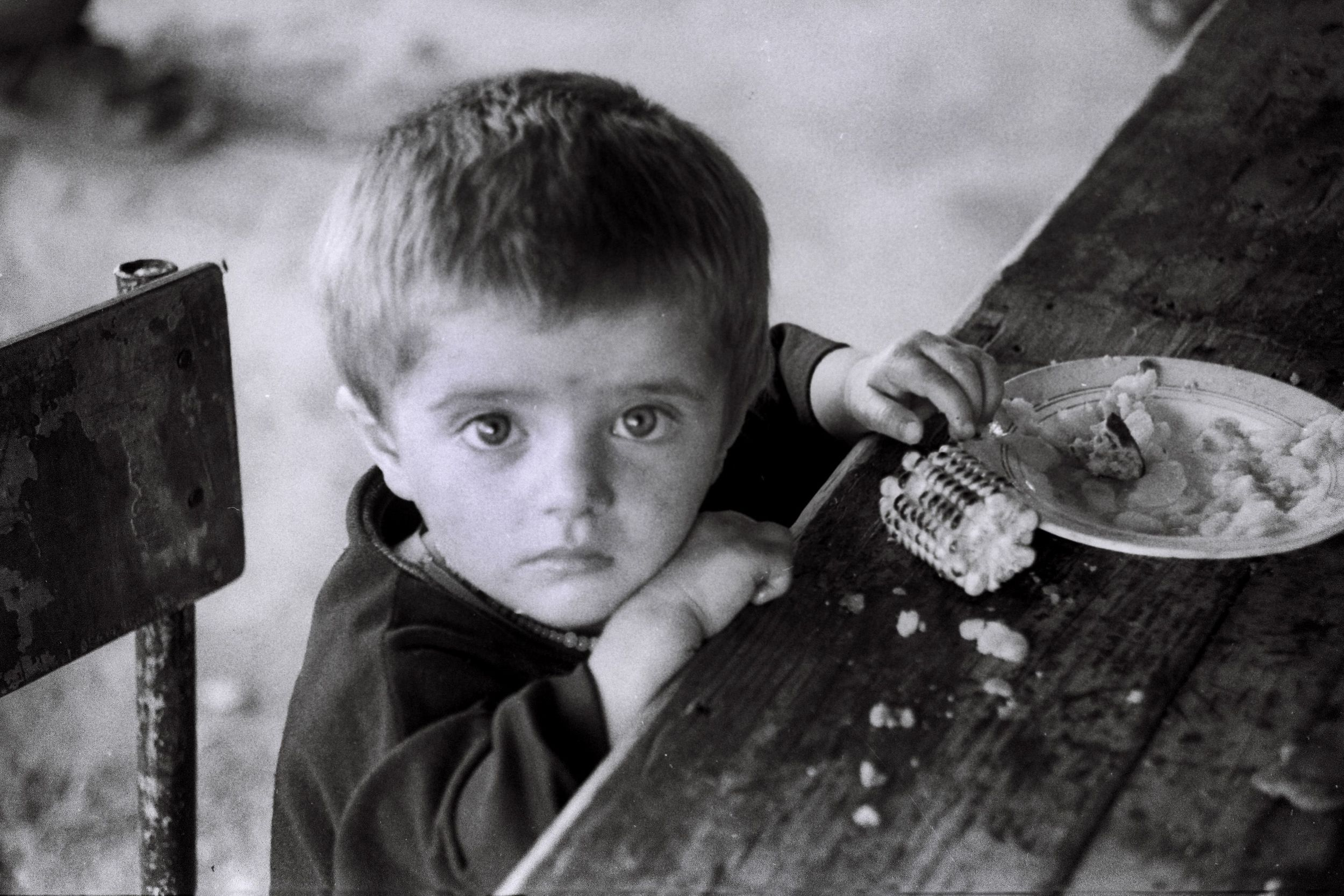 Azerbaijani refugee child from Karabakh. Credit:  Wikimedia