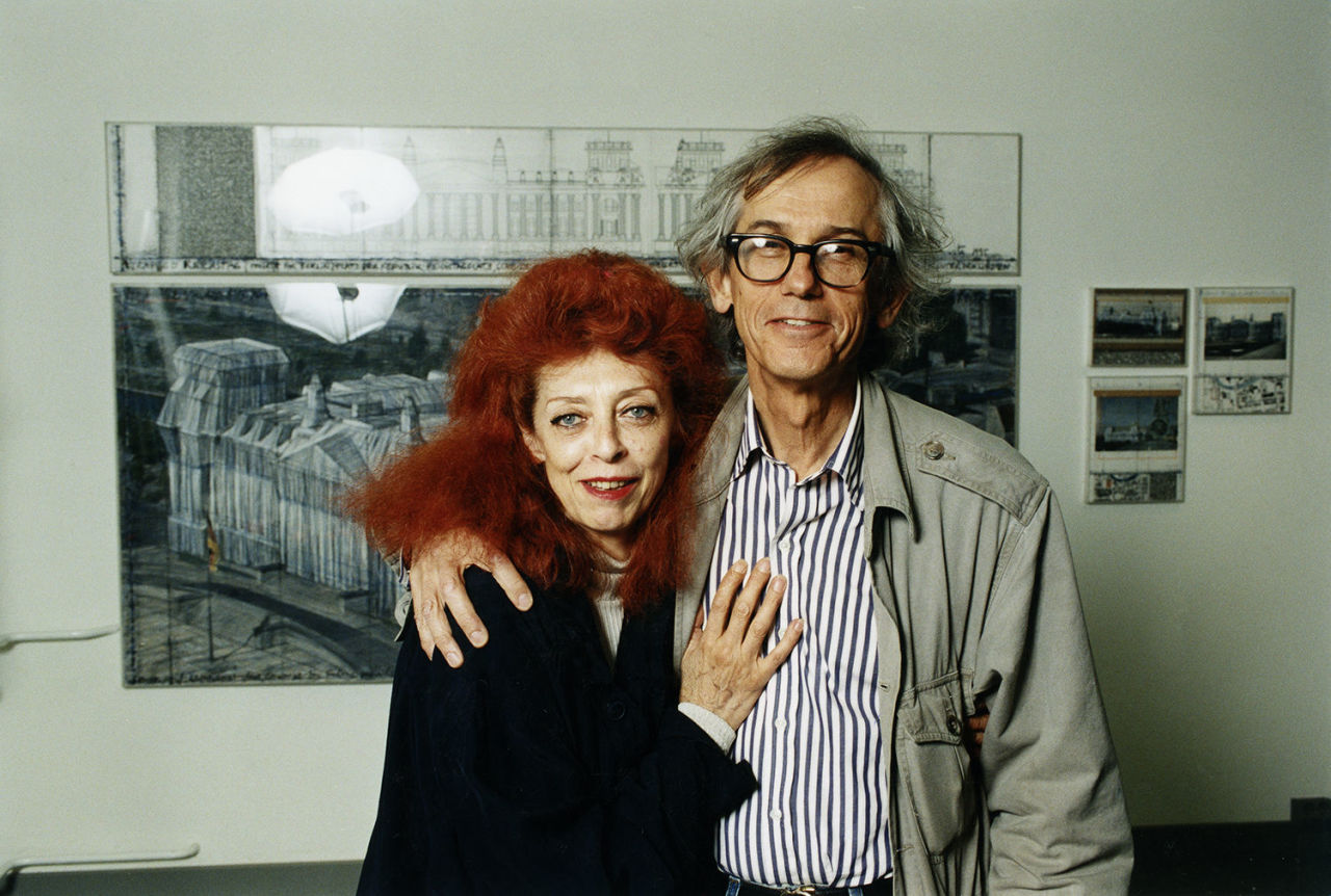Jeanne-Claude and Christo Javacheff. Credit: Cit.h-cdn.co ( full link )