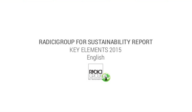 Take a look at the radicigroup for sustainability report by clicking through the image.