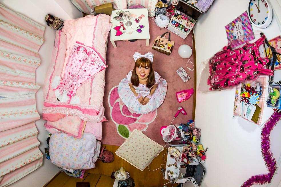 Room #256 of Ryoko in Tokyo, Japan.Credit:John Thackwray