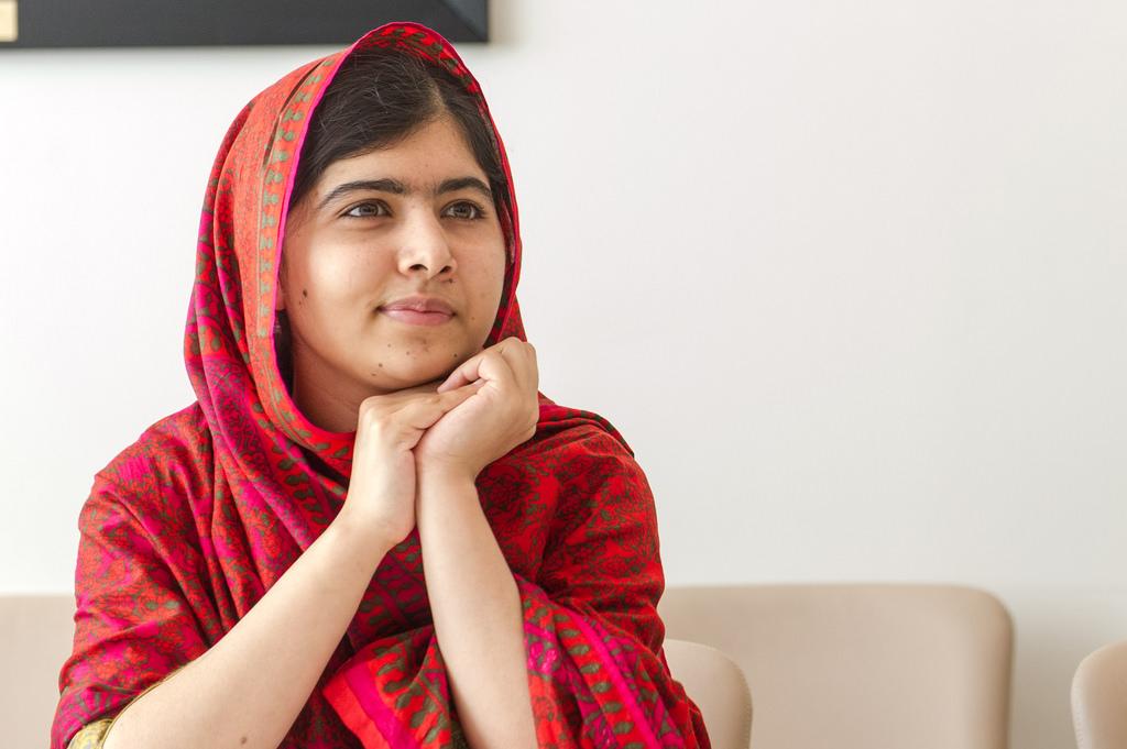 Pakistani hero Malala Yousafzai. Cover credit:  Flickr