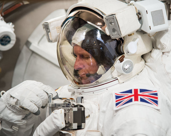 British astronaut Tim Peake Cover credit:  European Space Agency / Flickr