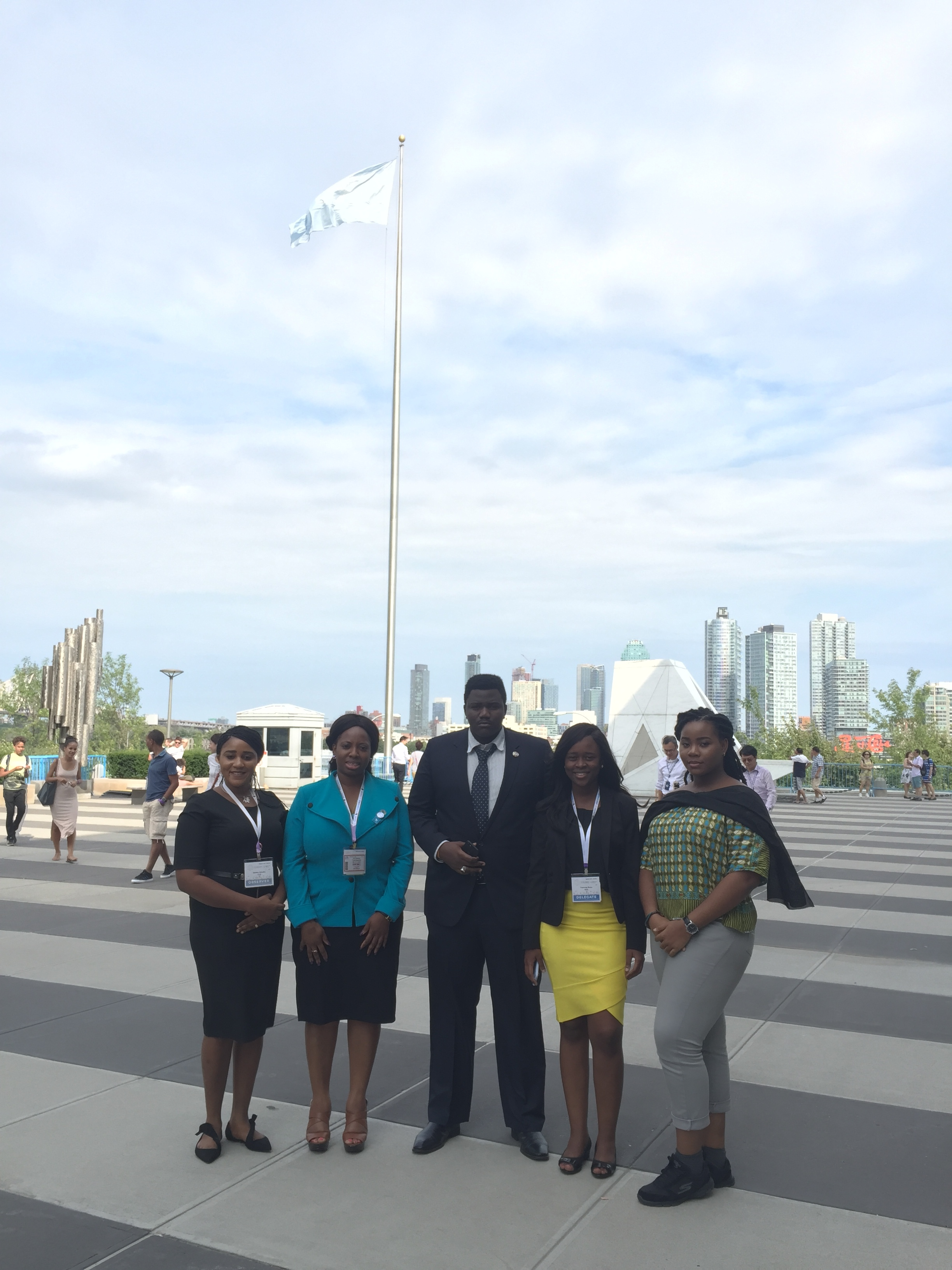 Names of group members: Vida Ofei-Addo (Ghana),Francess Munu (Sierra Leone),Tabitha Abimiku (Nigeria), Enoabasi Nta (Nigeria) and Sekou Sangare (Mali)