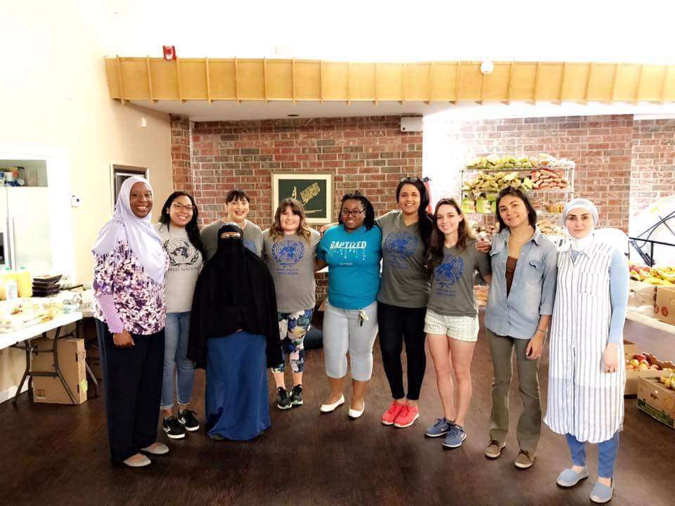 Mercy Foundation's food pantry (UN Association of OKC)