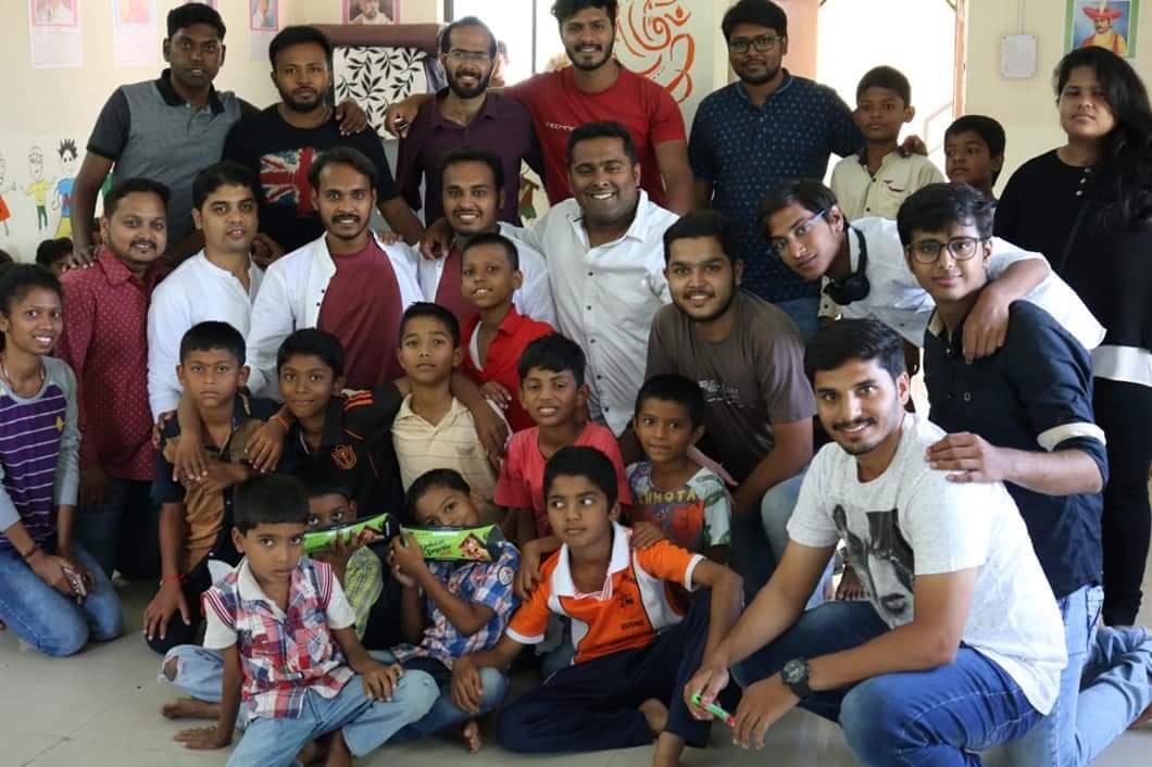 #MKR - Mitti Ke Rang: team member at the community center