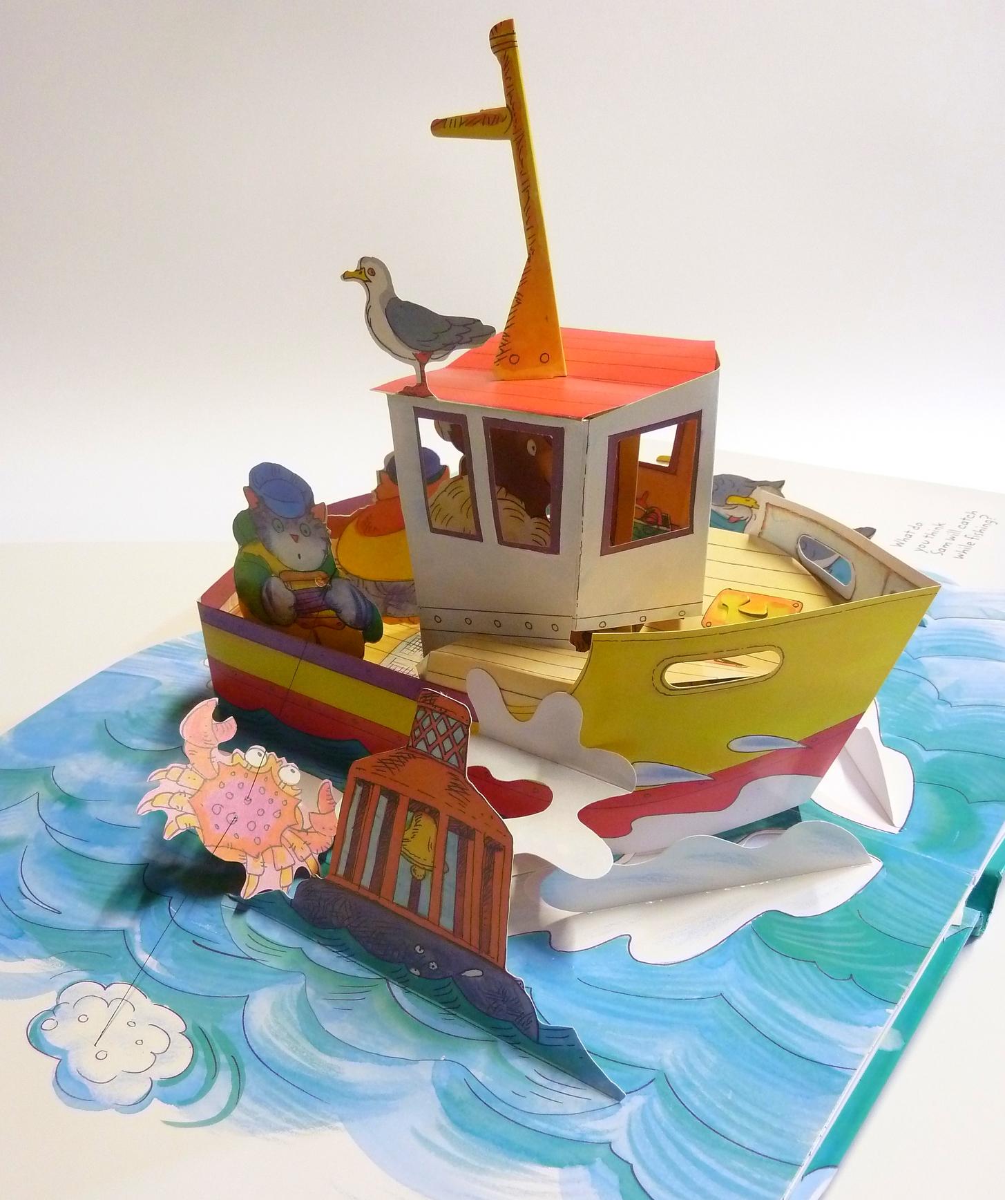 My Amazing POP-UP Boat