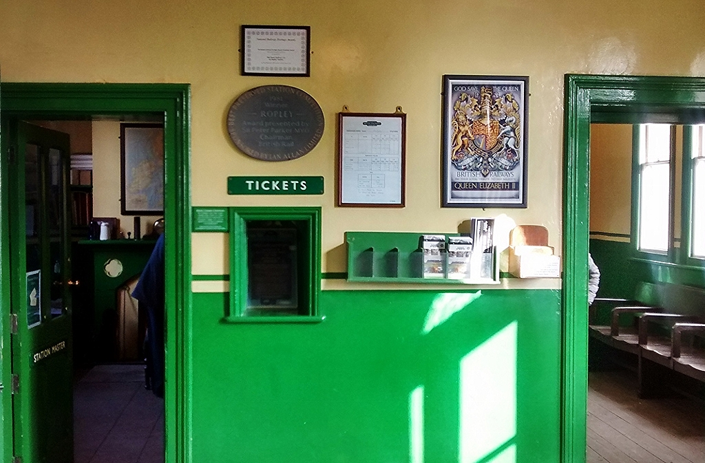 Booking Hall Ropley
