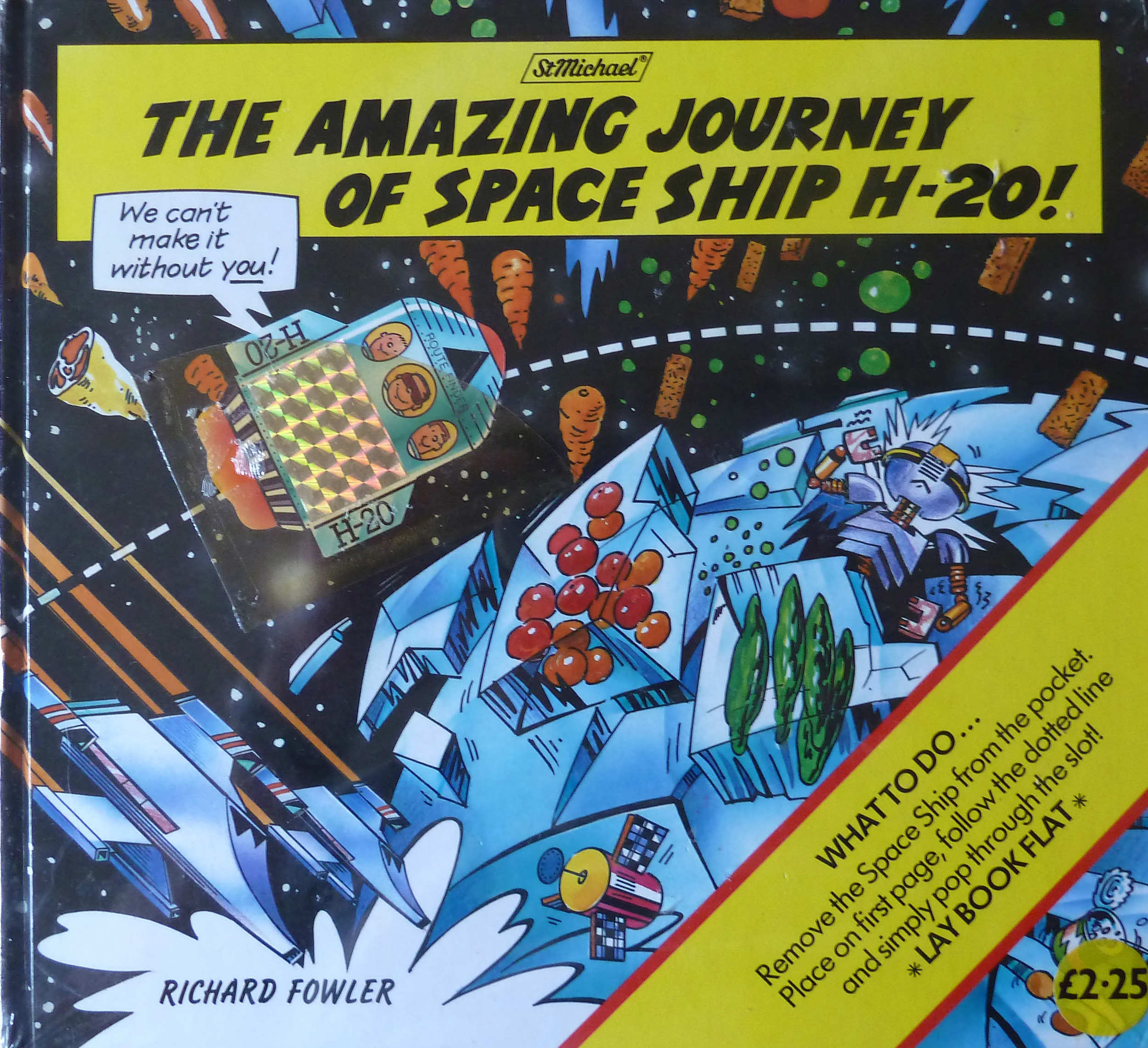 The Amazing Story of Spaceship H-20!