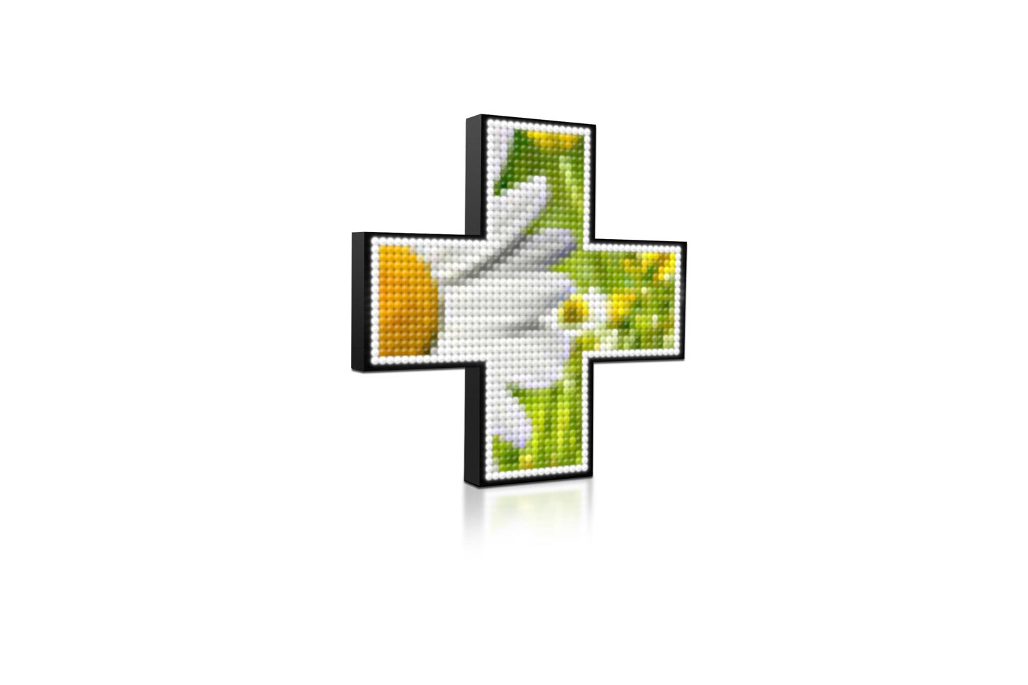 Full Colour Digital LED Pharmacy Cross from Blazin Digital