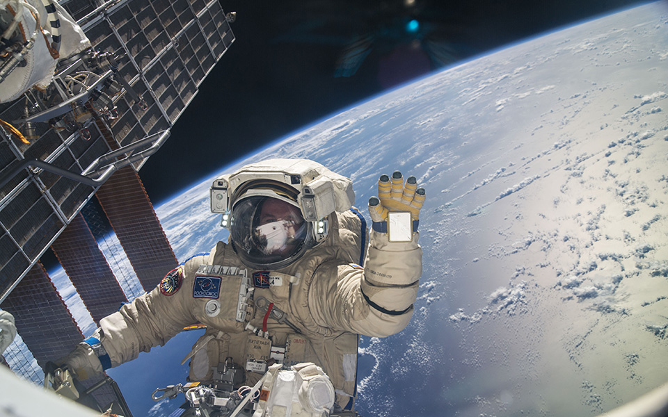 Cobham's products are in the ISS