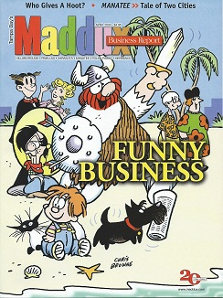 Our magazine's 2004 cover featuring    Tampa Bay's colony of nationally syndicated cartoonists.
